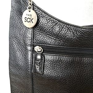 The Sak Black Leather Bag